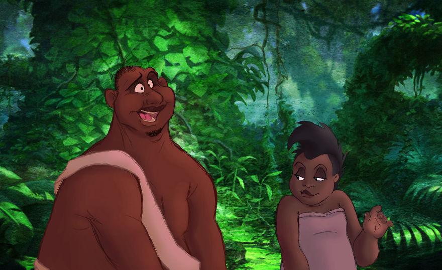 Human Tarzan