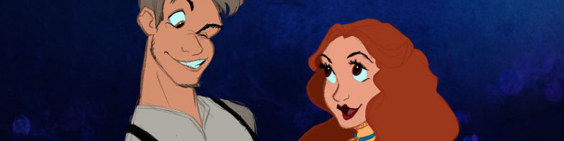 Disney Animals as Humans
