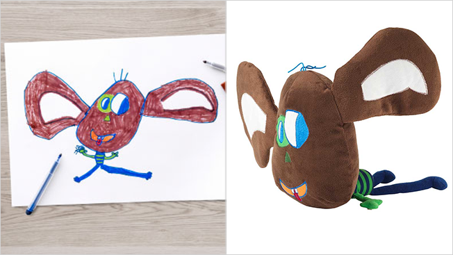 ikea monkey toy