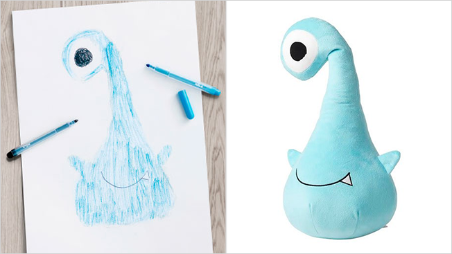 ikea monster toy
