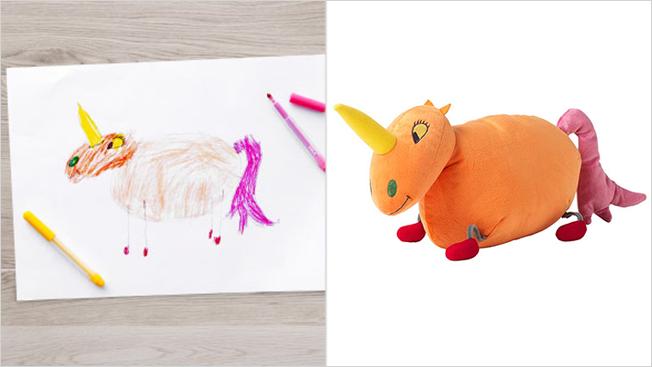 ikea unicorn toy