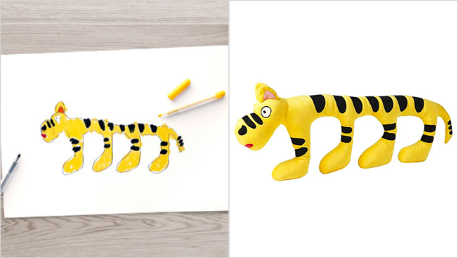 ikea tiger toy